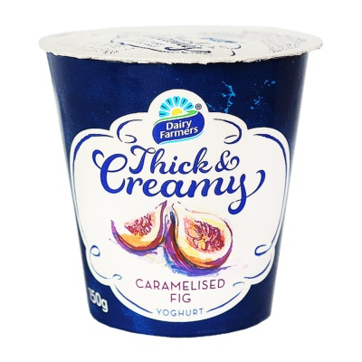 Dairy Farmers Thick Creamy Caramelised Fig 150g