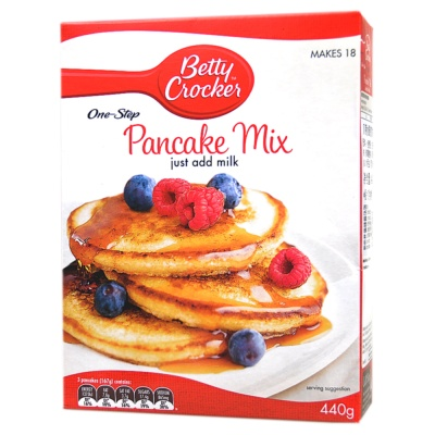 Betty Croker Pancake Mix 440g