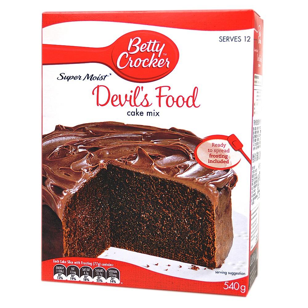 Betty Crocker Super Moist Devil's Food Cake Mix 540g
