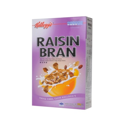 Kellogg's Bran Raisin Wheat Bran Flakes 285g