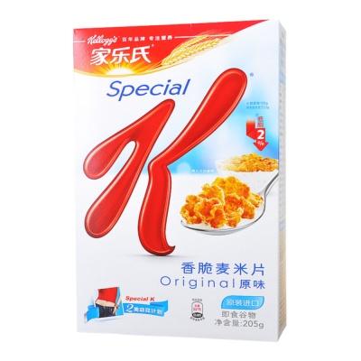 家乐氏香脆麦米片 205g