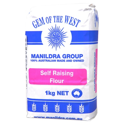 Gem Of The West Manildra Group Self Raising Flour 1kg