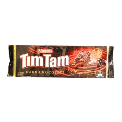 Arnott's Tim Tam Dark Chocolate Biscuits 200g