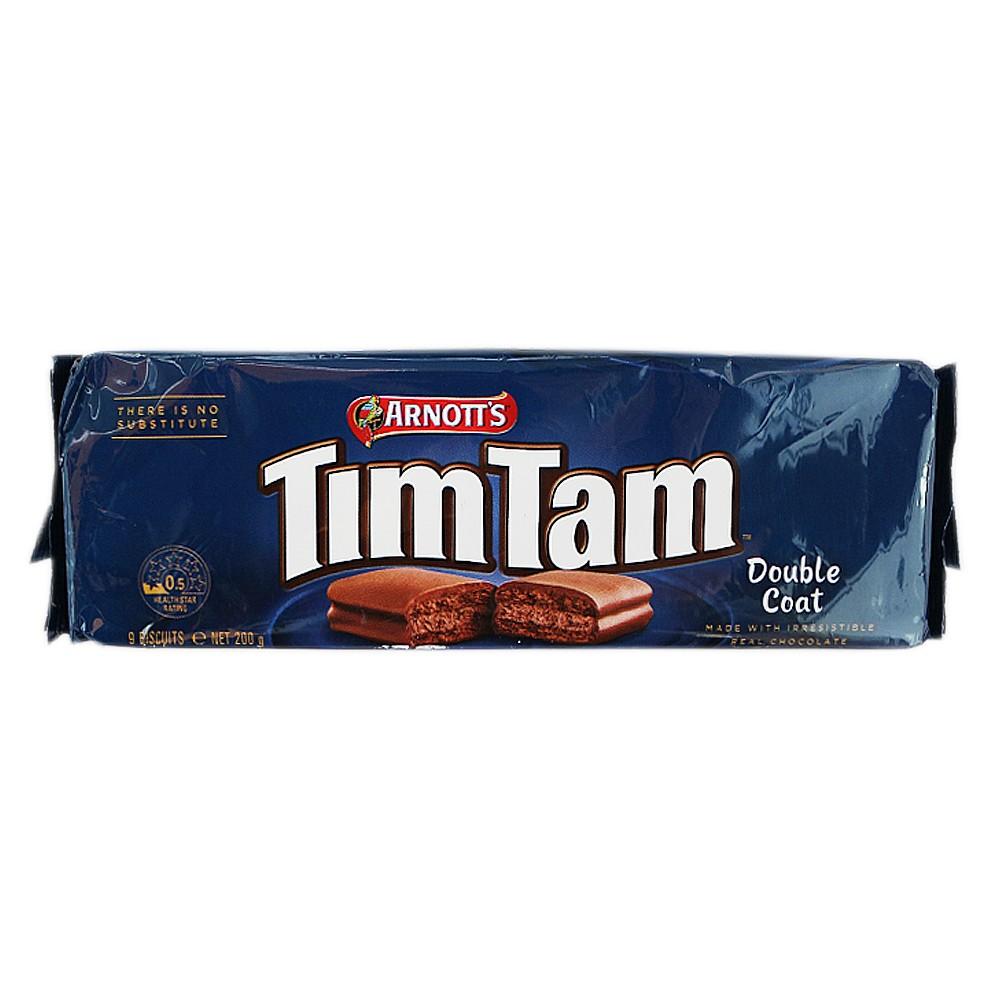 Arnott's Tim Tam Double Coat Chocolate Biscuit 200g