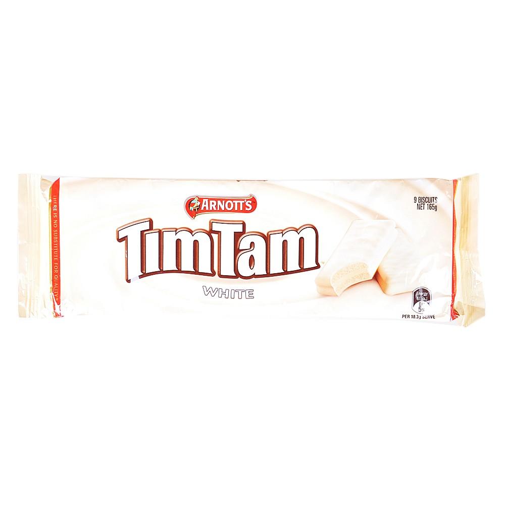 Arnott's Timtam White Chocolate Biscuit 165g