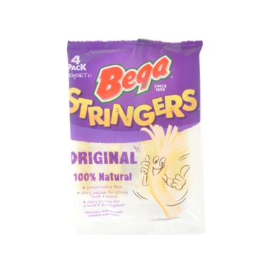 Bega Original Stringers Natural Cheese 80g
