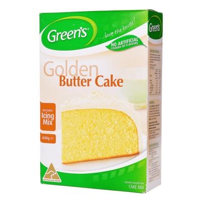 Green's Traditional Golden Butter Cake Mix 400g