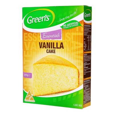 Green'S Vanilla Cake Mix 340g