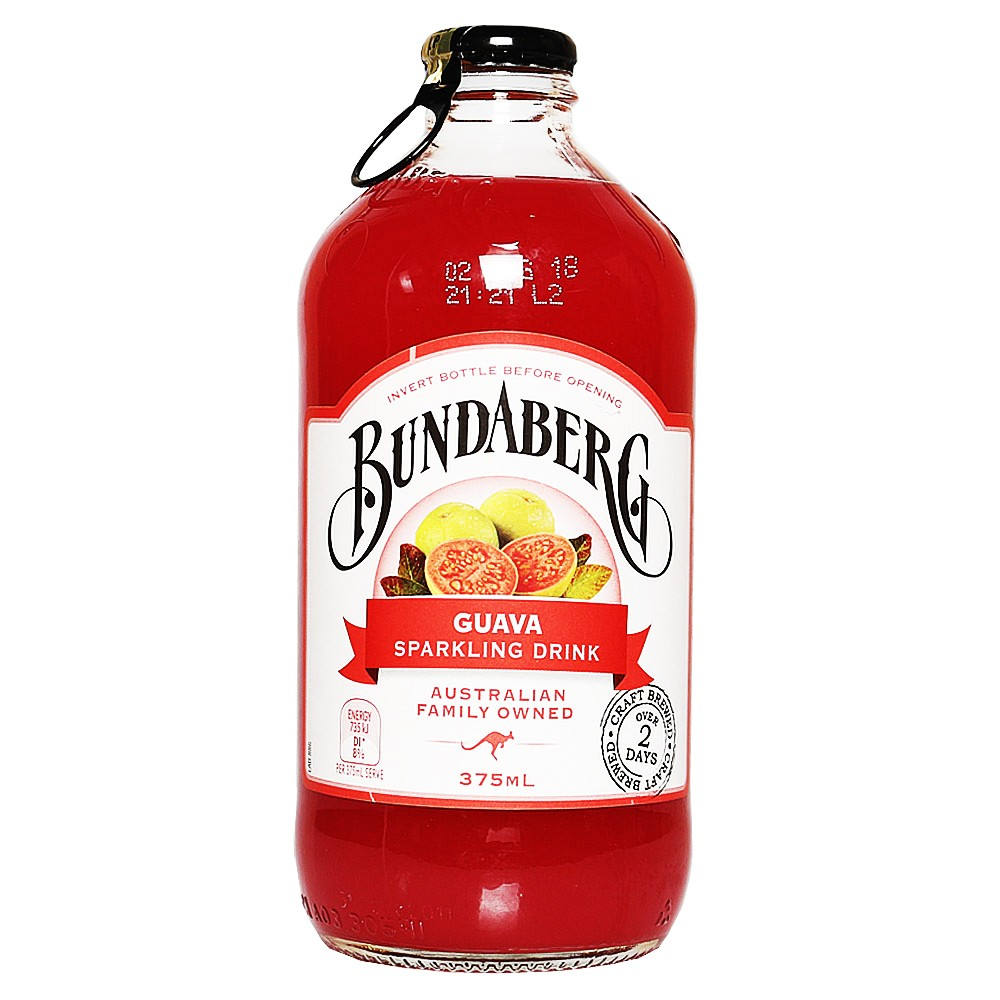 Bundaberg Guava Sparkling Drink 330ml