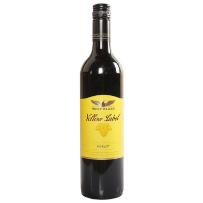 Wolfblass Yellow Label Merlot 750ml