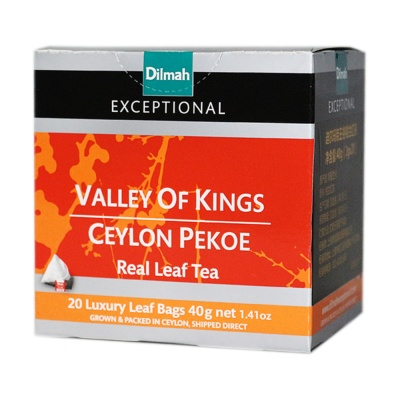 Dilmah Valley Of Kings Ceylon Pekoe Tea 20*2g