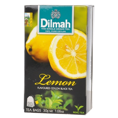 Dilmah Black Lemon Flavor Tea 20*1.5g