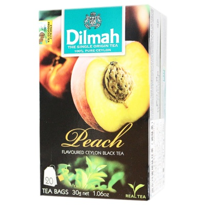 Dilmah Peach Flavoured Ceylon Black Tea 20*1.5g