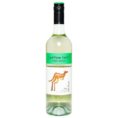 Yellow Tail Pinot Grigio White Wine 750ml
