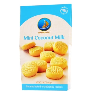 Spinnaker Mini Coconut Milk Cookie 70g