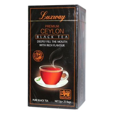 Luxway Premium Ceylon Black Tea 50g
