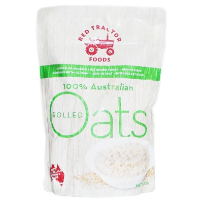 Red Tractor Foods 100% Australian Oats 500g