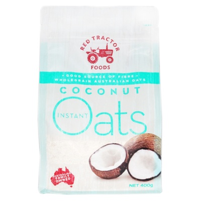 Red Tractor Foods Coconut Instant Oats 400g