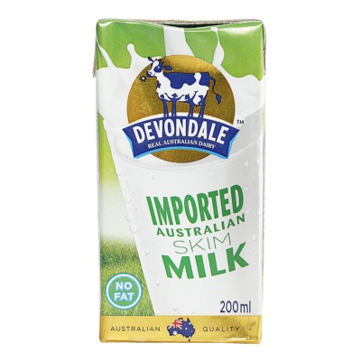 Devondale Skim Milk 200ml