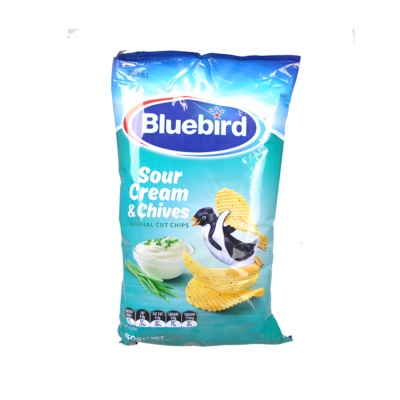 Bluebird Sour Cream & Onion Chips 150g