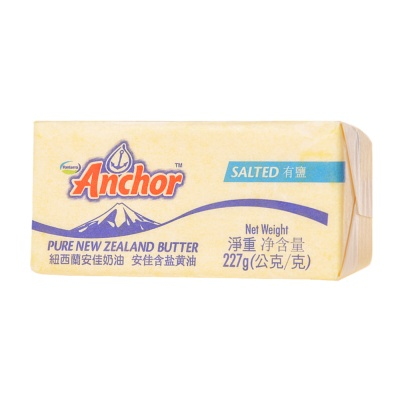 Anchor Pure New Zealand Salted Butter 227g