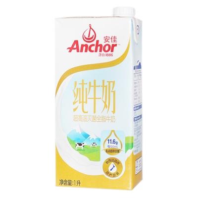 安佳超高温灭菌全脂牛奶 1L