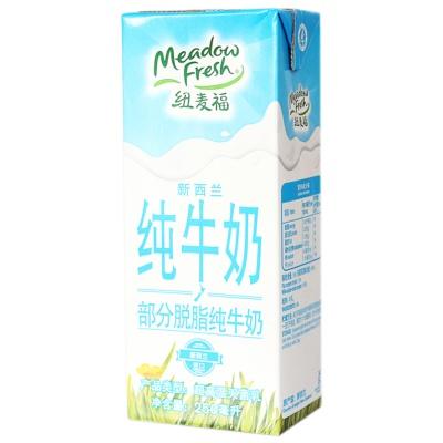 纽麦福部分脱脂牛奶 250ml