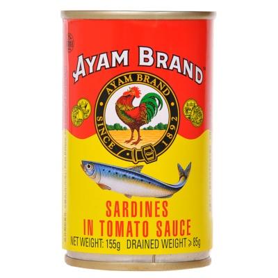 Ayam Brand Sardines In Tomato Sauce 155g
