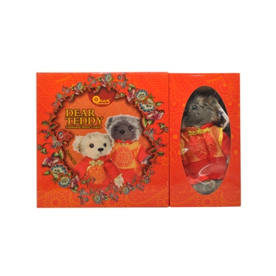 Omais Dear Teddy Traditional Butter Cookie(Bear Stuff Toy Gift Set)908g