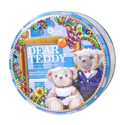 Omais Dear Teddy Assorted Fruits Butter Cookies 150g