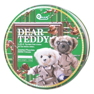Omais Dear Teddy Chocolate Cookies 150g