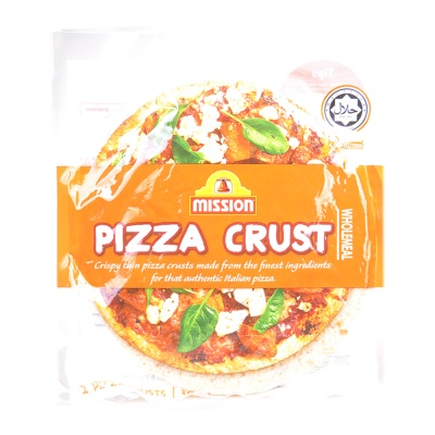 Mission Wholemeal Pizza Crust 300g