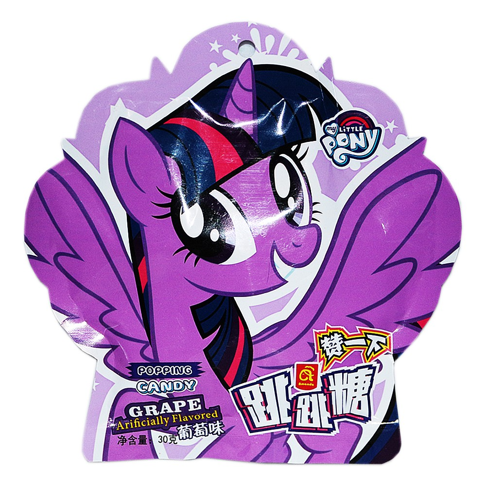 Amanda Grape Flavored Popping Candy 30g