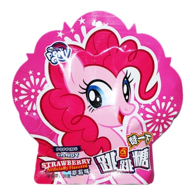 Amanda Strawberry Flavored Popping Candy 30g