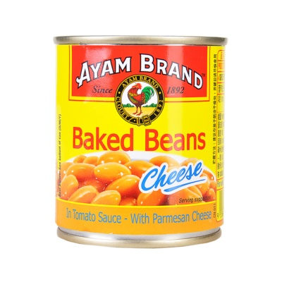 Ayam Brand Bakes Beans in Tamato Sauce with Parmesan Cheese 230g