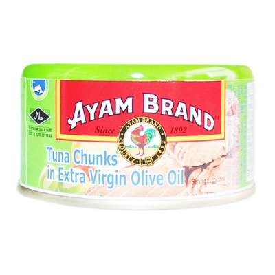 Ayam Brand Tuna Chunks In Extra Virgin Olive Oil 185g