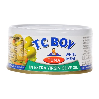 Tc Boy Solid White Meat Tuna In Extra Virgin Olive Oil 180g