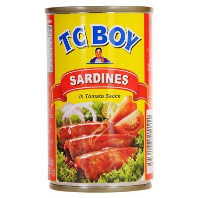Tc Boy Sardines In Tomato Sauce 155g