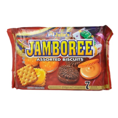 Julie's Jamboree Assorted Biscuits 210g