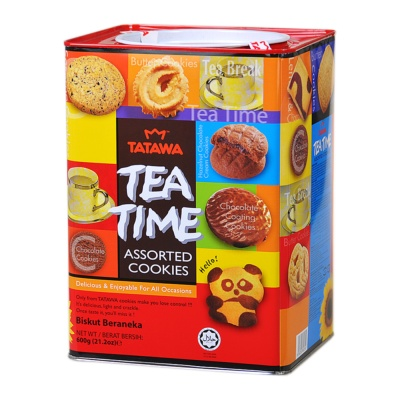 Tatawa Tea Time Assorted Cookies 600g