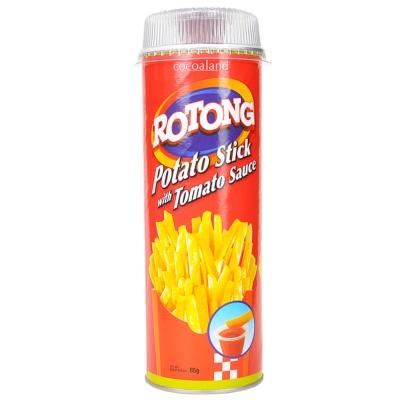 Rotong Potato Stick With Tomato Sauce 85g
