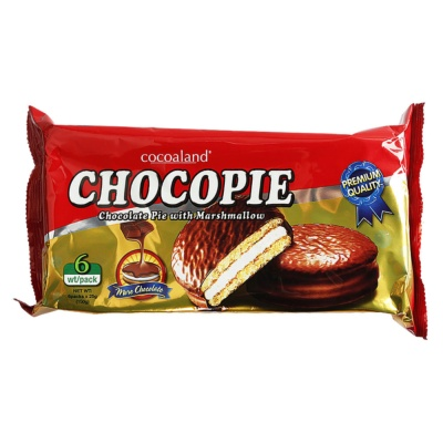 Cocoaland Chocolate Pie With Marshmallow 150g