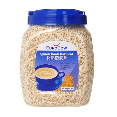 Eurocow Quick Cook Oatmeal 1kg