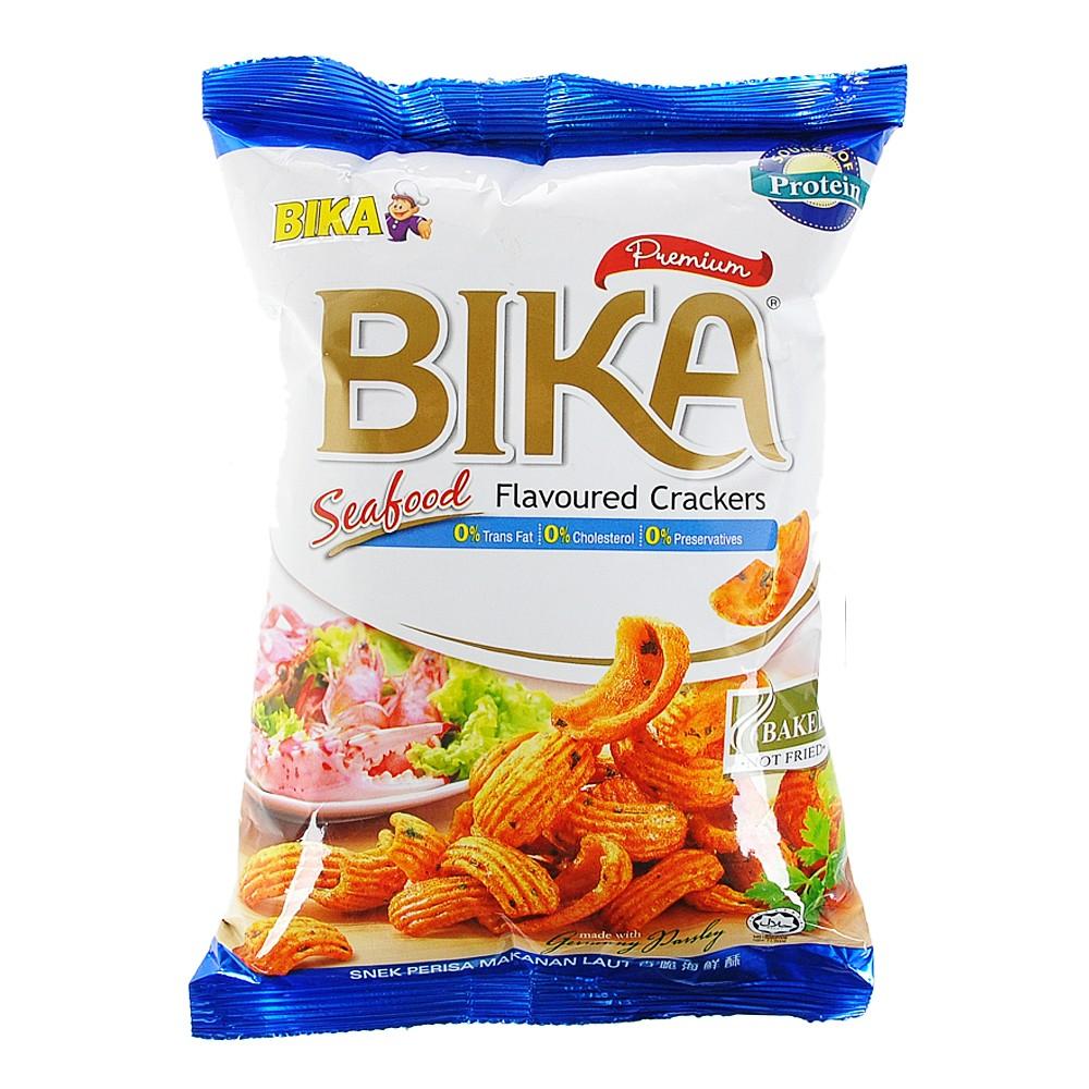 Bika Premium Seafood Flavoured Chips 70g