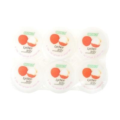 可康荔枝味果冻(含椰纤果) 6*80g