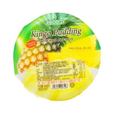 可康牌大杯菠萝味果冻(果味型) 420g