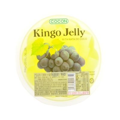 Cocon Grape Flavor Kingo Jelly 420g