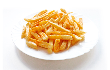 Chips, Potatoes & Onion Rings